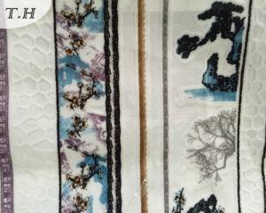 Large Flower Pattern Exquisite Workmanship Jacquard Cloth (FEP012) pictures & photos