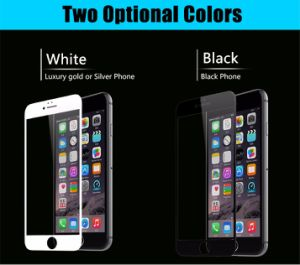 3D Soft Edge Full Cover Tempered Glass for iPhone 6 6s Plus Seamless Covering Anti Glare pictures & photos