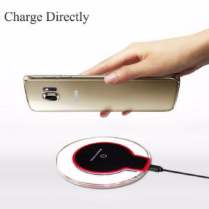 Customized Crystal Qi Phone Wireless Charger for Samsung S6 S7 Edge pictures & photos