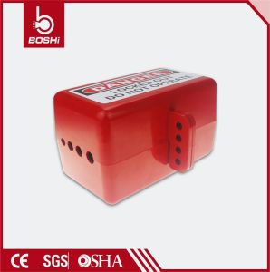 Electrical Plug Lockout ABS Material Plug Cover Lock Bd-D31 pictures & photos