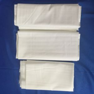 100%Cotton Bleached Fabric for Hotel 40*40 140*110 pictures & photos