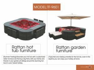 Patio Outdoor Garden Wicker Rattan Jacuzzi Furniture