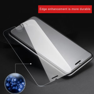 Phone Accessories Flat Transparent Tempered Glass Protector Film for iPhone 6/6plus 7/7plus pictures & photos