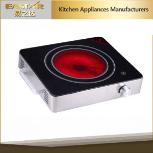 Waterproof and Greaseproof Panel Ceramic Cooker (ES-J100) pictures & photos