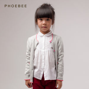 100% Cotton Kids Sweaters for Girls Wholesale Online pictures & photos