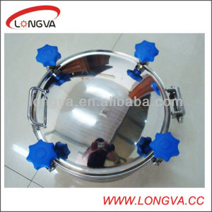 Food Grade Pressure Tank Manhole Cover pictures & photos