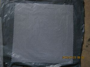 Hexagonal Polyester Cloth for Strengthening Mosaic Back Mounting pictures & photos