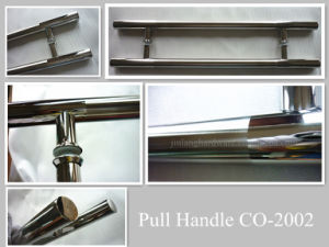 H Shape stainless Steel Glass Door Handle pictures & photos