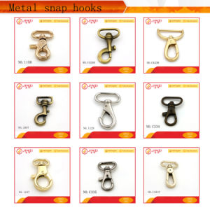 Various Custom Metal Snap Hooks for Handbags pictures & photos