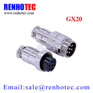 Aviation Plug Gx12 Gx16 Gx20 Male Female Metal Docking Wire Connector pictures & photos