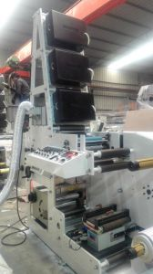Flexo Printing Machine One Color with Corona Treater pictures & photos