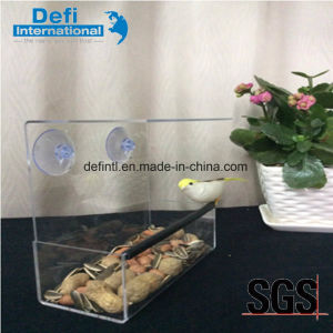 Best Selling Acrylic Window Bird Feeder House with Suction Cups pictures & photos