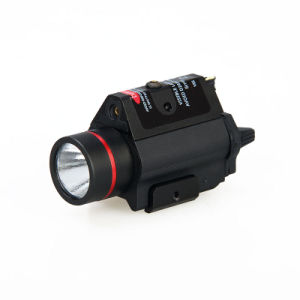Tactical Hunting Handgun Airsoft 3W-H2 Aluminum M6r LED Flashlight with Red Laser pictures & photos