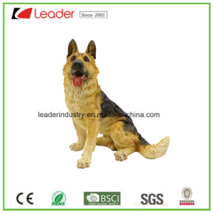 Hand Painted Polyresin Dog Statue for Indoor and Outdoor Decoration pictures & photos