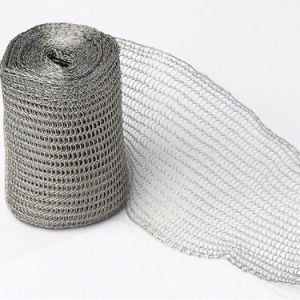 Removable Insulation Jacket Knitted Stainless Steel Wire Mesh Sheet pictures & photos