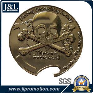 Die Struck Copper Metal Coin Black Nickel Color, Gun Color pictures & photos