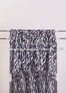 Polyester Flannel/Coral Fleece Blanket - Zebra-Stripe pictures & photos