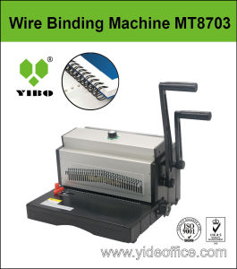 A3 Size Heavy Duty Design Wire Binding Machine (MT8703) pictures & photos