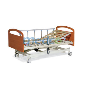 Three Functions Wooden Bed Board Electric Home Care Bed pictures & photos