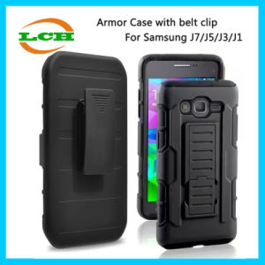 Armor Protective with Belt Clip Phone Cases for Samsung J7/J5/J3/J1 pictures & photos