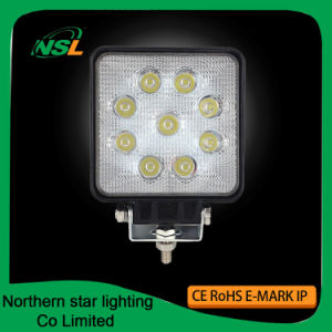 LED Working Lights 27W 9PCS * 3W Epistar Spot Flood Beam Auto Accessories pictures & photos