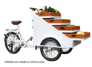 Vending OEM Cargo Bikes with Baskets pictures & photos