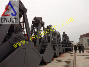 Four Ropes Mechanical Clamshell Grab Bucket for Grain pictures & photos