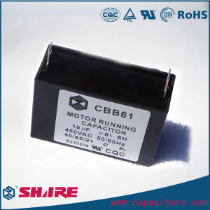 AC Motor Capacitor Cbb61 Fan Box Type Capacitor Cbb61 250VAC 50/60Hz 40UF Sh Capacitor pictures & photos