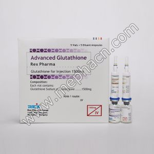 Glutathione for Skin Whitening Gsh 1500mg 2400mg 3000mg pictures & photos