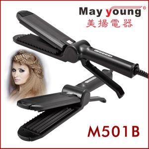 Professional Scissors Titanium Korean Super Thin Hair Straightener Flat Iron pictures & photos