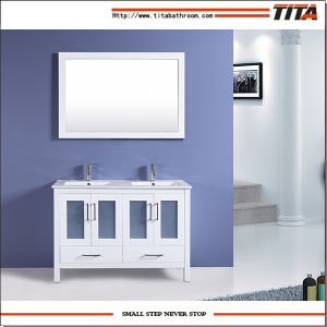 High Quality Ceramic Basin Bathroom Cabinet T9024-60W pictures & photos
