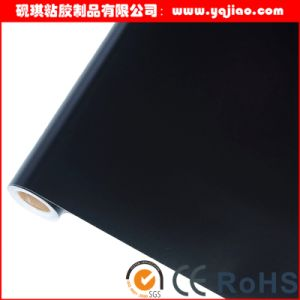 PVC Matt Black Vinyl Sticker Film for Aluminum Glass Protection pictures & photos