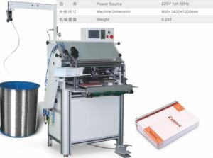 Cwh-450 Spiral Forming Dand Binding Machinery for Exercise Book pictures & photos