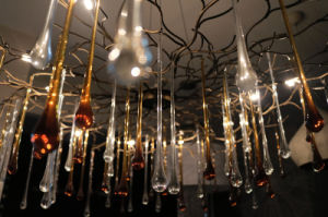 Halogen Drops Sparkling Crystal Chandelier Lighting pictures & photos