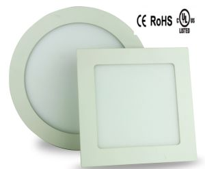 3W 6W 9W 12W 15W 18W Round Square LED Ceiling Panel pictures & photos