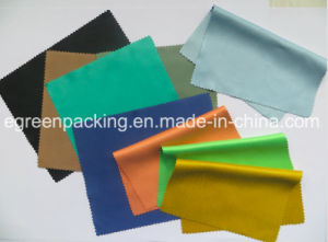 Microfiber Eyeglasses Cleaning Cloth (80%polyester+20%polyamide 240-250GSM) pictures & photos