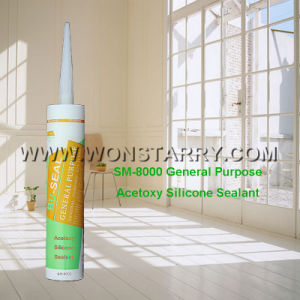 Acetic Silicone Sealant for General Purpose Sealing pictures & photos