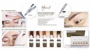 Mastor Intelligent Micropigment Digital Touch Permanent Makeup Tattoo Machine pictures & photos