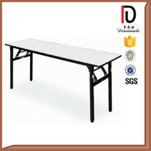 Portable Folding White Long Rectangle Plastic Banquet Table (BR-T003) pictures & photos