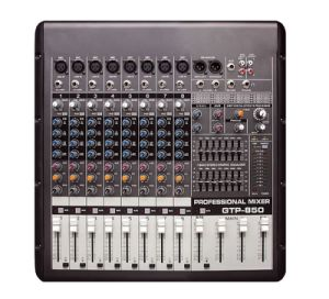 8-Channel High-Quality Analog Audio Mixer with Amplifier (GTP-850) pictures & photos