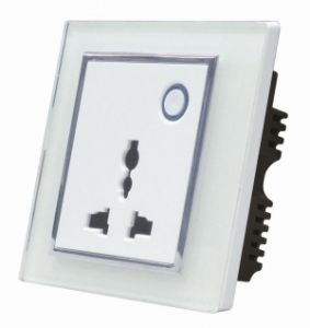Wireless Fashionable RF Remote Control Socket for Smart Control (Yx-86czsc) pictures & photos
