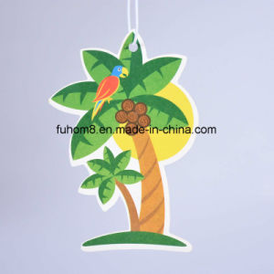 Custom Best Hanging Paper Car Air Freshener with Long-Lasting Fragrance pictures & photos