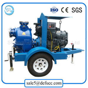 New Style 6 Inch Self Priming Diesel Trash Water Pump pictures & photos