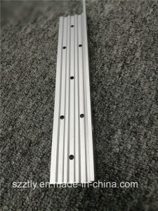 Custom 6061 Aluminum Extruded Profile by Punching Machining pictures & photos