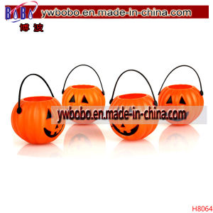 Halloween Decoration Pumpkin Basket Yiwu Market Export Agent (H8064) pictures & photos
