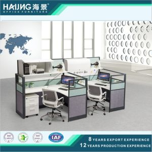 Fashionable Office Workstation Partition for 2 People