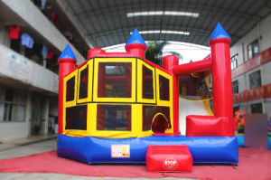 5 in 1 Inflatable Jumping Castle Bouncer for Kid′s Party (CHB615-1) pictures & photos