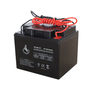 12V 40ah VRLA AGM Rechargeable Mf Lead Acid Solar Battery