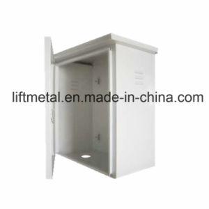 Sheet Metal Distribution Box Cabinet Custom Metal Fabrication (LFCR300) pictures & photos