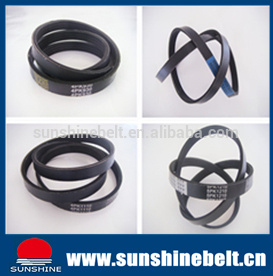 Poly Ribbed V Belt with Rubber Fabric pictures & photos